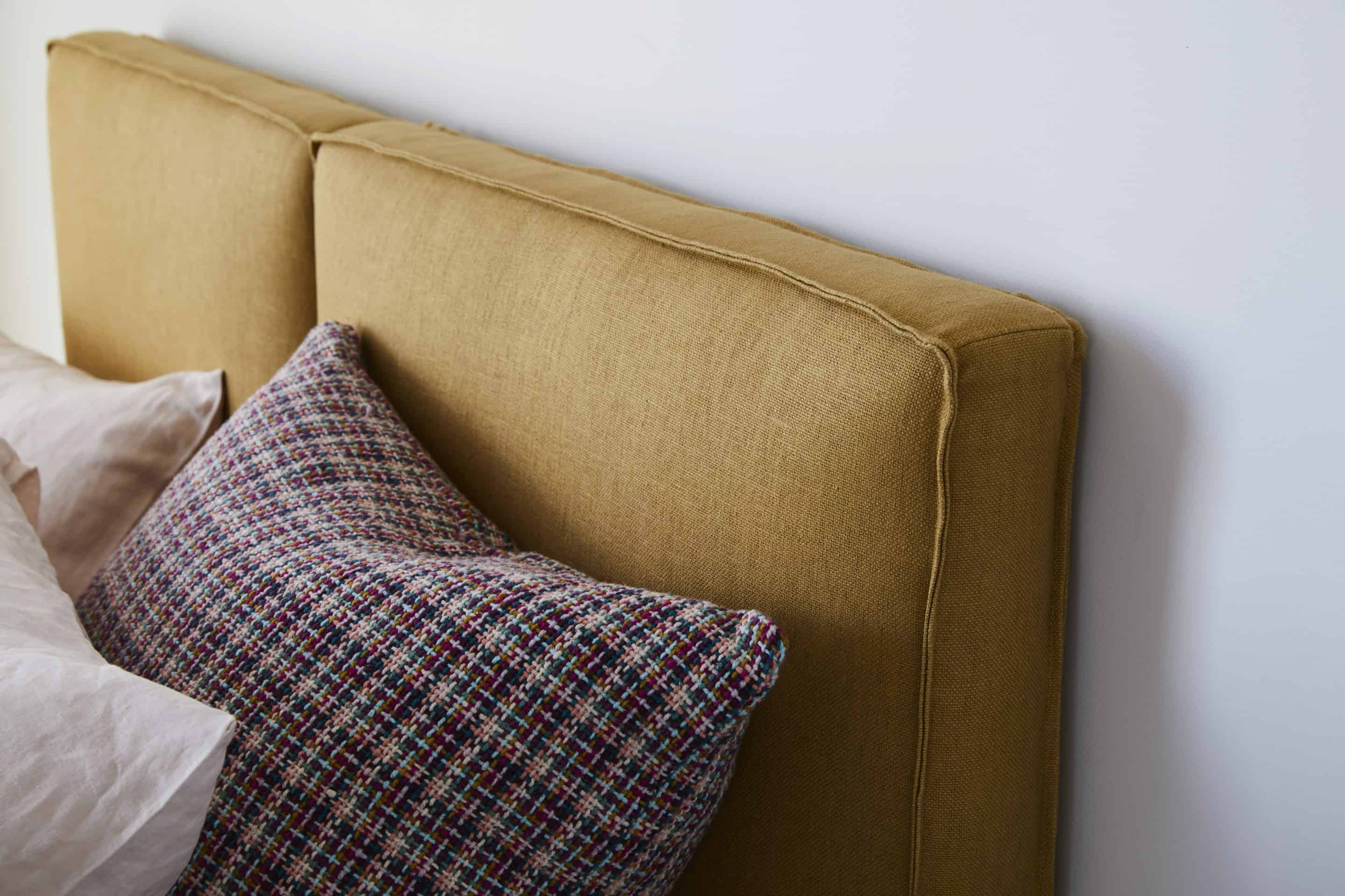 The Armelle upholstered bedhead