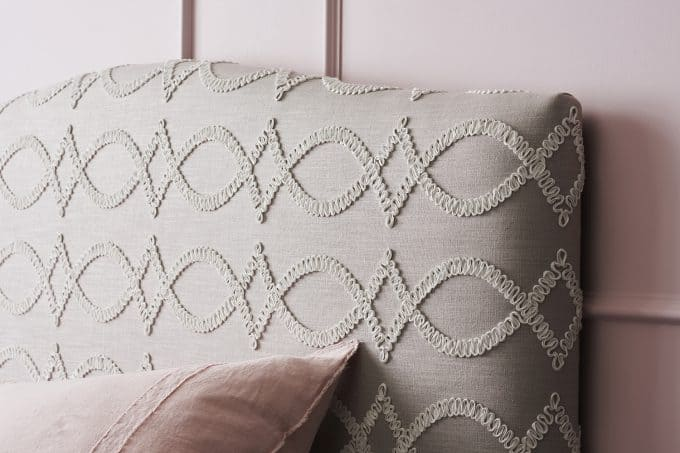 Valentine bedhead in Kate spade fabric