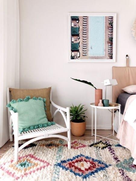 Fun bedroom scheme