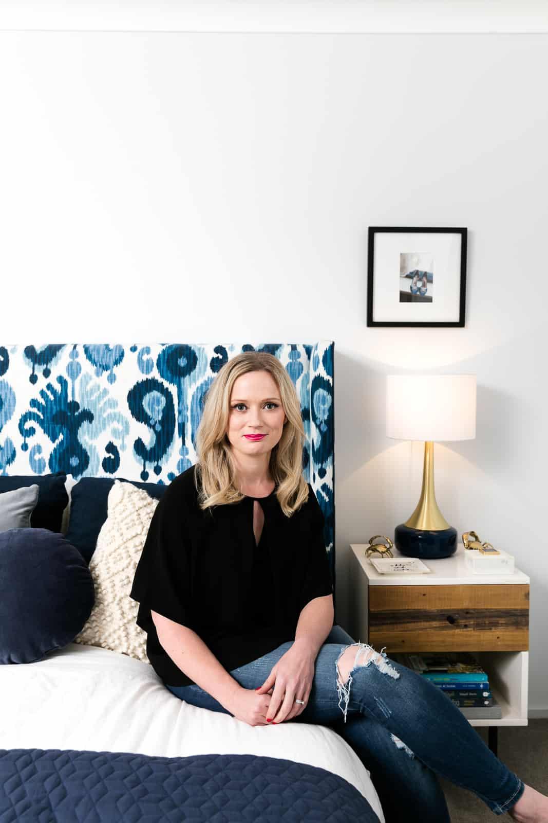 Jen Bishop, master bedroom, Interiors Addict