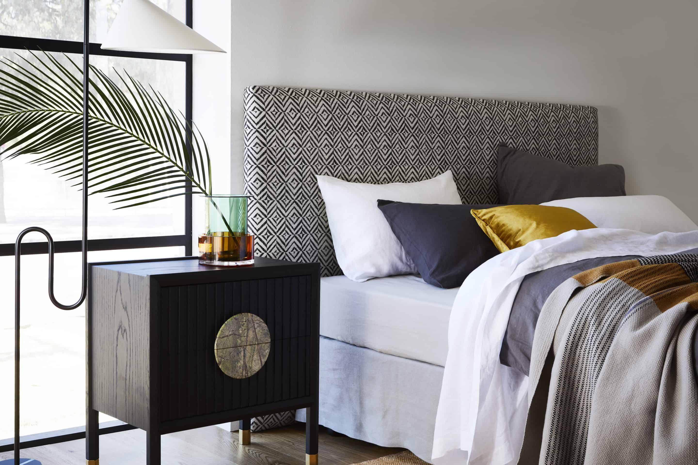 The Portobello Upholstered bedhead