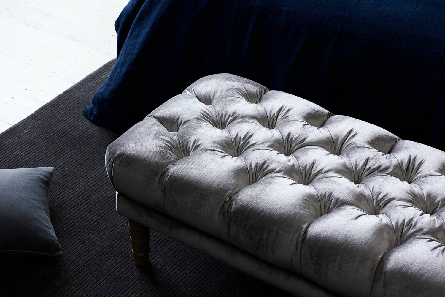 Marco footstool, bedroom furniture