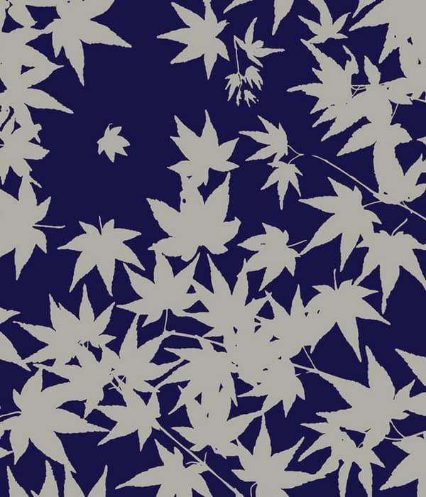 Florence Broadhurst maple leaf textile