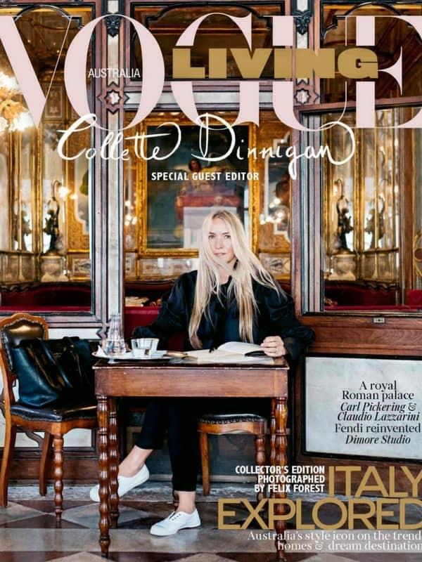 Vogue Living, Collette Dinnigan, Heatherly Design, upholstered beds