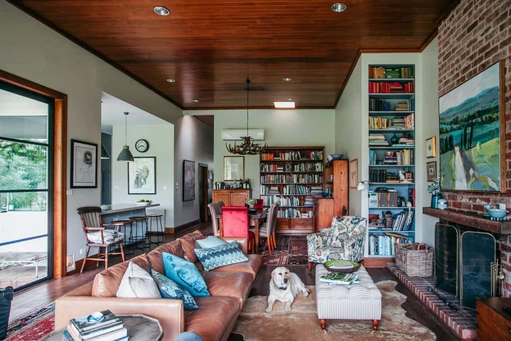 Kim Selby - Living room