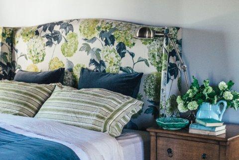 Hampton in Hydrangea Linen