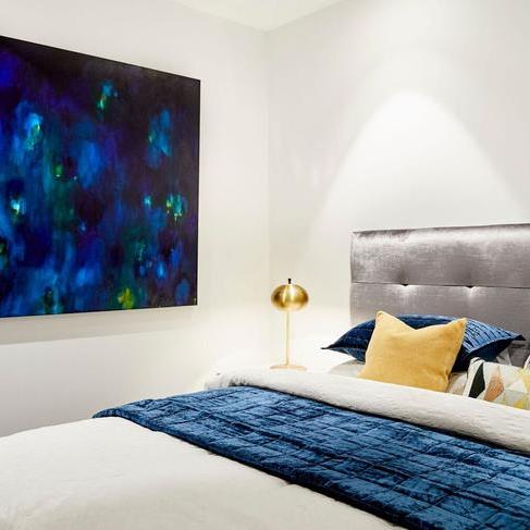 Sackville bedhead the block guest bedroom 2018