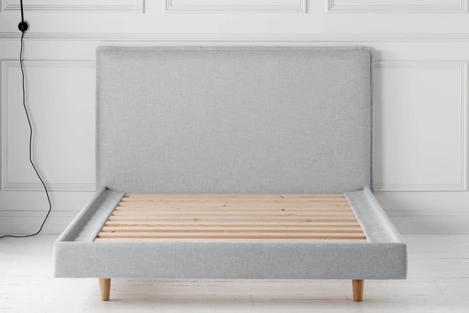 Readymade Rupert Bed in Husk Ice Linen