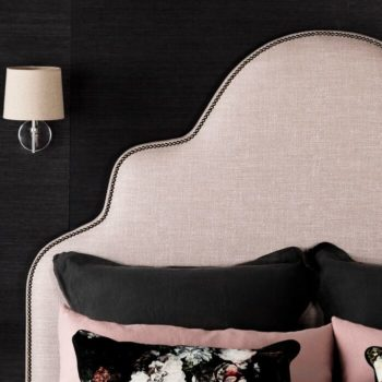 Giselle Bedhead in Adria Blush Linen4