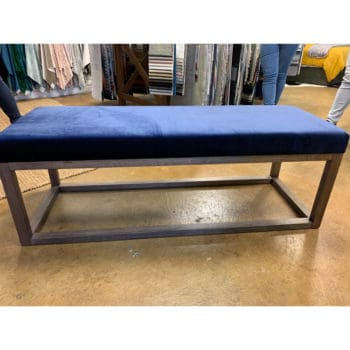 Mercer Footstool Ellison Navy