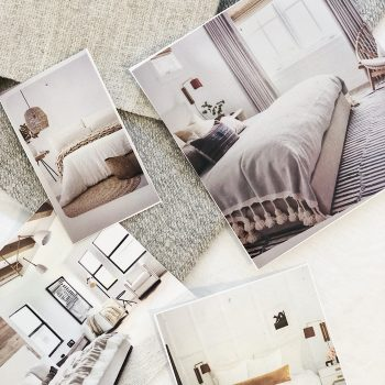 Heatherly Design mood board client inspiration