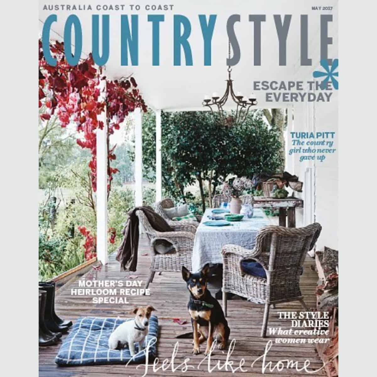 Country Style feature magazine May 2017 Heatherly home