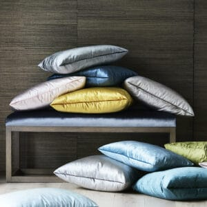 Heatherly Design velvet cushions