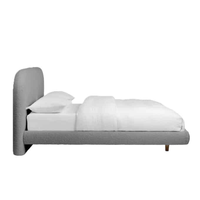 readymade bonnie bed in frost boucle