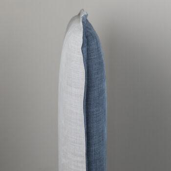 Rupert Reversible bed head double sided flip linen