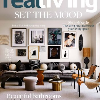 Real living cover april magazine design heatherly beds