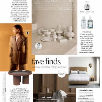 Real living magazine april fave finds heatherly design