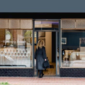Heatherly Design Melbourne Showroom Glen Iris exterior shop front