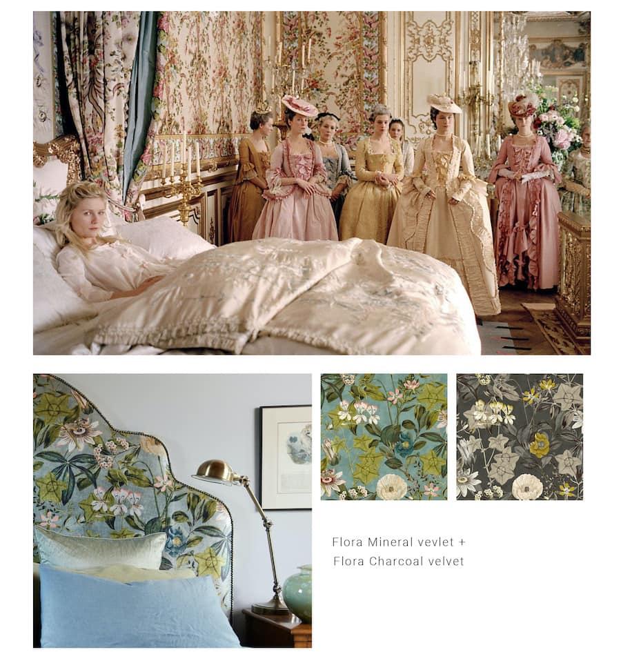 Marie Antoinettes bedroom Heatherly Design blog