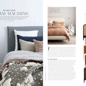 House & Garden feature of Bonnie Bed