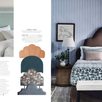 House & Garden feature Giselle Bed head
