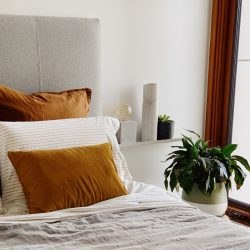 Heatherly Design custom bedhead